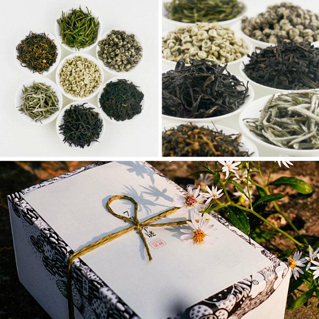 对白茶舍·中国名茶礼盒图片