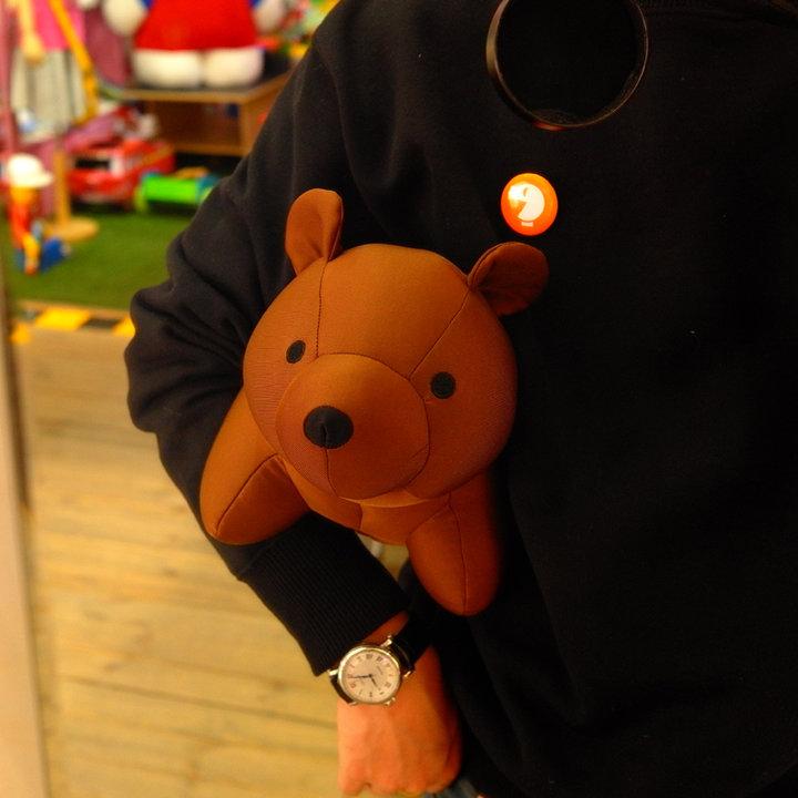 可以变身的小熊·一只可爱的小熊,萌萌的表情,软软的身姿.
